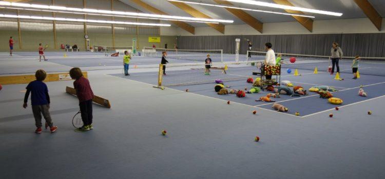 Die jüngste Nachwuchsförderung des Tennisvereins