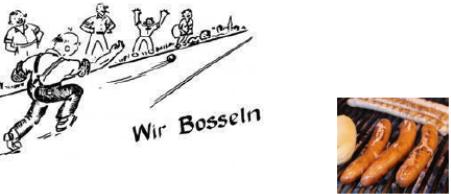Einladung zur Bosseltour 2019