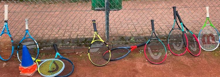 Bilder von dem Tenniscamp 2021